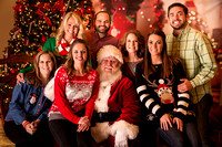 Lindsey Bartley Team at Keller Williams | A Night Out with Santa 2015
